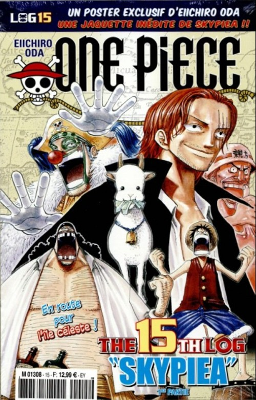 One Piece - Log Books T15 : Skypea - 1ère partie (0), manga chez Hachette de Oda