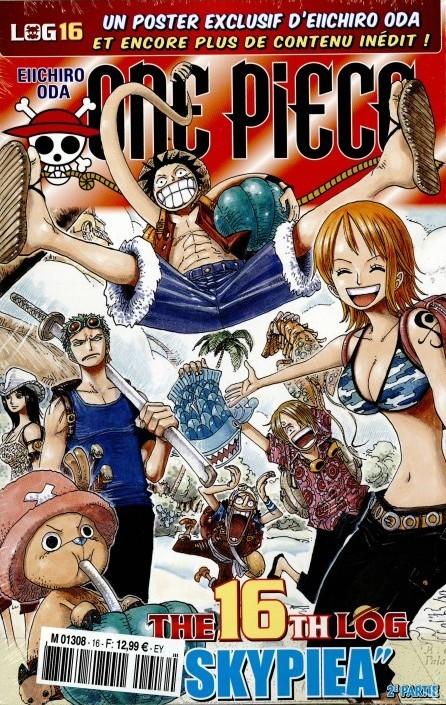One Piece - Log Books T16 : Skypiea - 2e partie (0), manga chez Hachette de Oda
