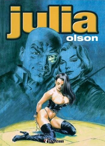 Julia, bd chez Dynamite de Olson