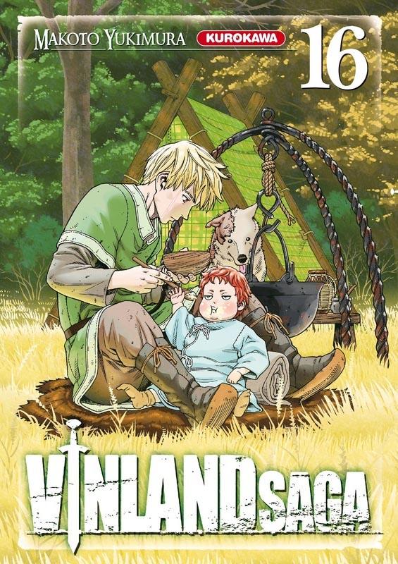 Vinland Saga T16, manga chez Kurokawa de Yukimura