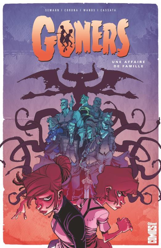 Goners : Une affaire de famille (0), comics chez Glénat de Semahn, Corona, Cassata