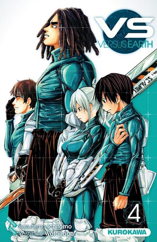 VS Versus Earth T4, manga chez Kurokawa de Ichimoto, Watanabe