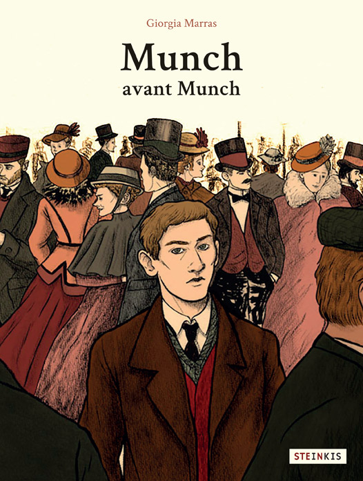 Munch avant Munch, bd chez Steinkis de Marras