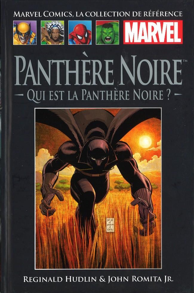 Marvel Comics, la collection de référence T46 : Panthère Noire - Qui est la Panthère Noire ? (0), comics chez Hachette de Hudlin, Romita Jr, White, Janson