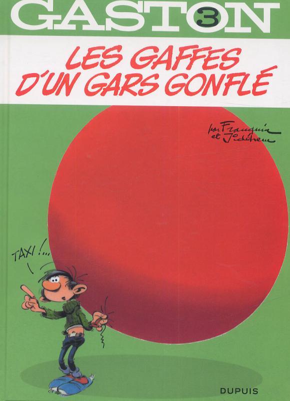 Gaston T3 : Les gaffes d'un gars gonflé (0), bd chez Dupuis de Franquin, Jidéhem