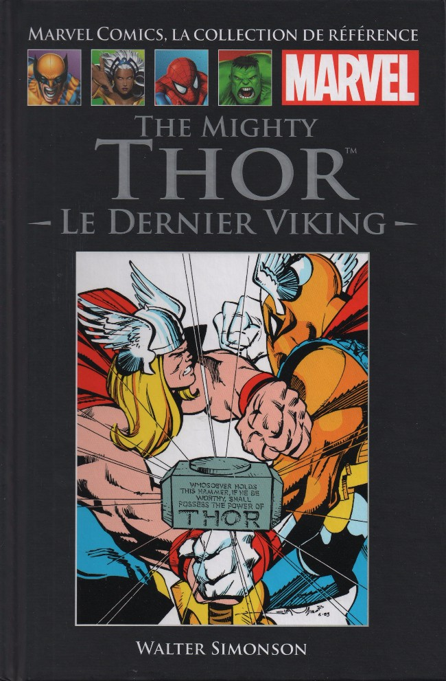 Marvel Comics, la collection de référence T6 : The Mighty Thor - Le dernier viking (0), comics chez Hachette de Simonson, Roussos, Scheele