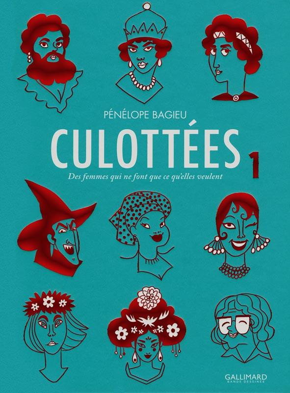 Les culottées T1 : , bd chez Gallimard de Bagieu