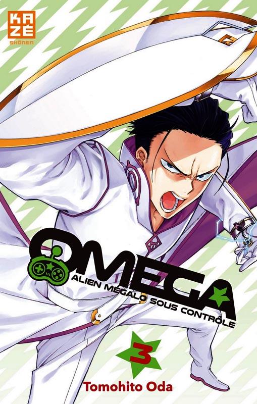 Omega  T3, manga chez Kazé manga de Oda