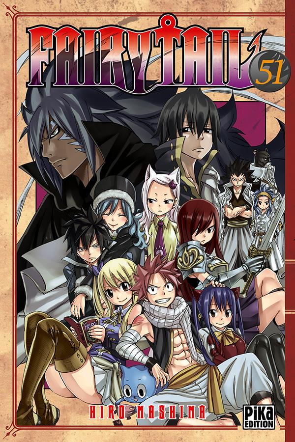 Fairy Tail T51, manga chez Pika de Mashima