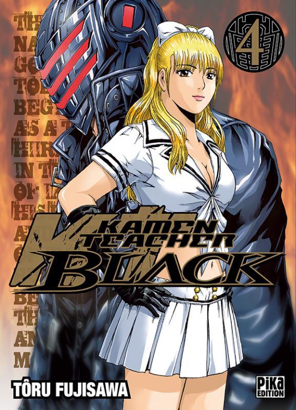 Kamen Teacher Black T4, manga chez Pika de Fujisawa