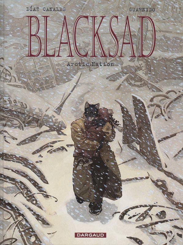 Blacksad T2 : Arctic-Nation (0), bd chez Dargaud de Canales, Guarnido