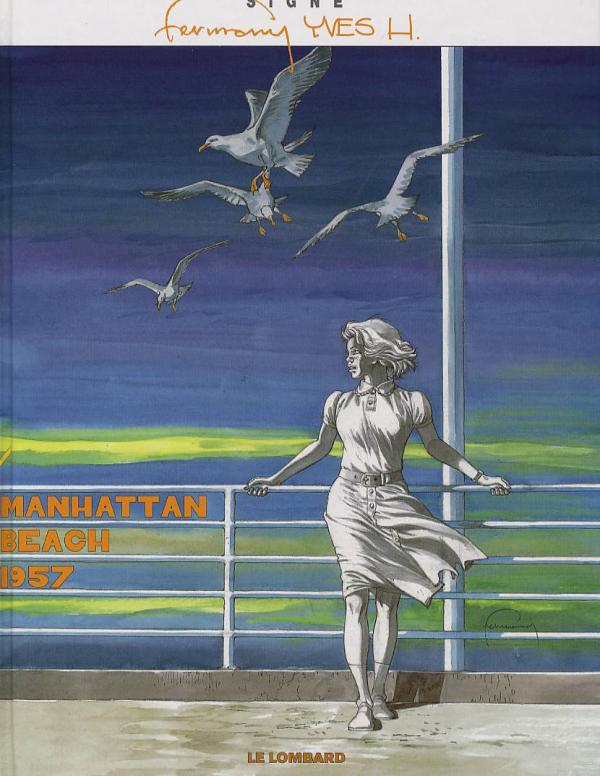 Manhattan Beach 1957 : Manhattan Beach 1957 (0), bd chez Le Lombard de H., Hermann