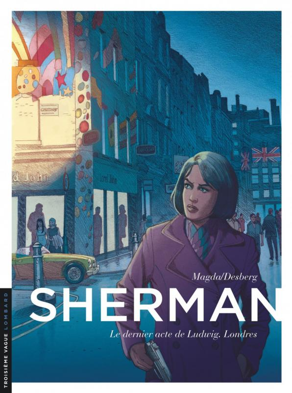 Sherman T7 : Le pardon (0), bd chez Le Lombard de Desberg, Magda