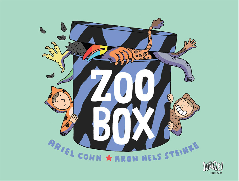 Zoo Box, bd chez Jungle de Cohn, Steinke
