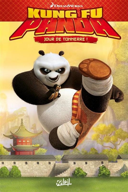 Kung Fu Panda T2 : Jour de tonnerre (0), bd chez Soleil de Furman, Simmonds-Hurn, Bailey
