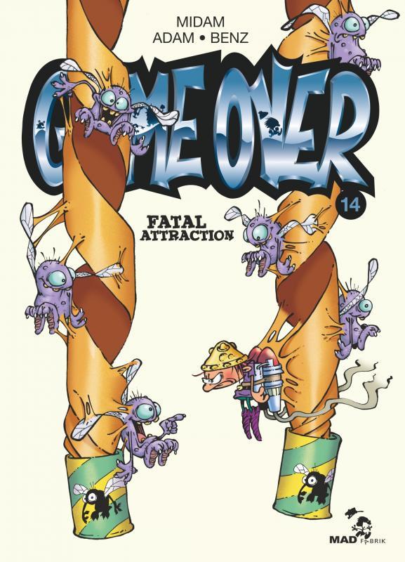 Game Over T14 : Fatal Attraction (0), bd chez Glénat de Benz, Midam, Adam, BenBK