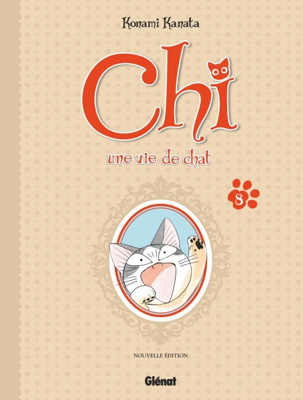 Chi - une vie de chat (format BD) T8, bd chez Glénat de Konami