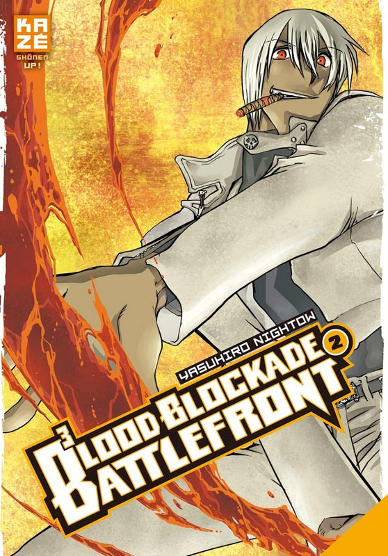 Blood blockade battlefront T2, manga chez Kazé manga de Nightow