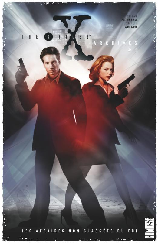 The X-Files [Archives] T1 : Les affaires non classées du FBI (0), comics chez Glénat de Petrucha, Adlard, Freeman, Smith