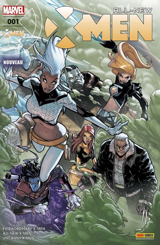 All-New X-Men T1 : Refuge-X (0), comics chez Panini Comics de Hopeless, Lemire, Bunn, Land, Ramos, Bagley, Woodard, Delgado