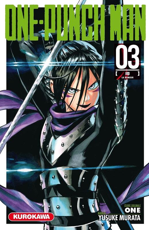 One-Punch Man T3 : La rumeur (0), manga chez Kurokawa de One, Murata