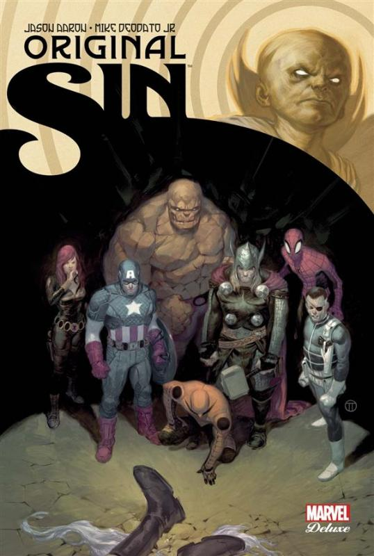 Original Sin, comics chez Panini Comics de Brubaker, Aaron, Waid, Medina, Cheung, Pulido, Deodato Jr, Martin jr, Rodriguez, Ponsor, Tedesco