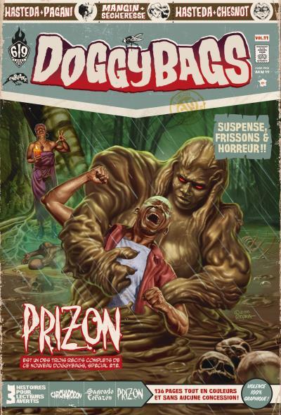 Doggybags T11 : Carcharodon / Sagrado Corazon / Prizon (0), comics chez Ankama de Mandias, Hasteda, Run, Mangin, Sécheresse, Chesnot, Pagani, Yuck, Repka