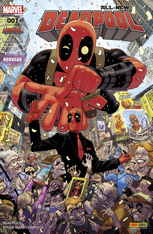All-New Deadpool (revue) T1 : Sumus Omnes Deadpool (0), comics chez Panini Comics de Kelly, Duggan, McGuinness, Hawthorne, Guru efx, Staples, Keith, Moore