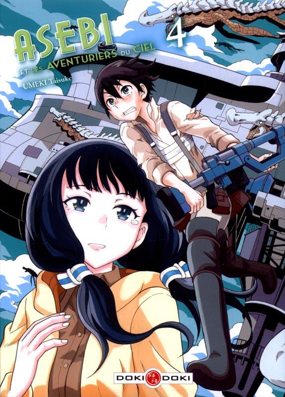 Asebi et les aventuriers du ciel  T4, manga chez Bamboo de Umeki