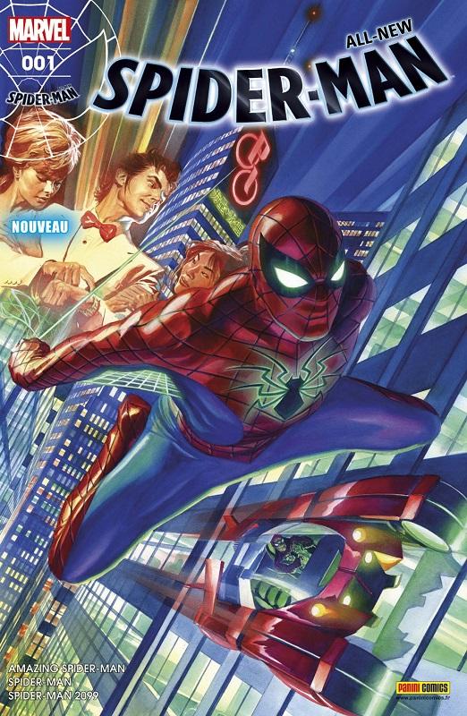 All-New Spider-Man T1 : Partout dans le monde (0), comics chez Panini Comics de David, Bendis, Slott, Gage, Holden, Pichelli, Camuncoli, Diaz, Sliney, Bellaire, Gracia, Ponsor, Silva, d' Armata, Ross
