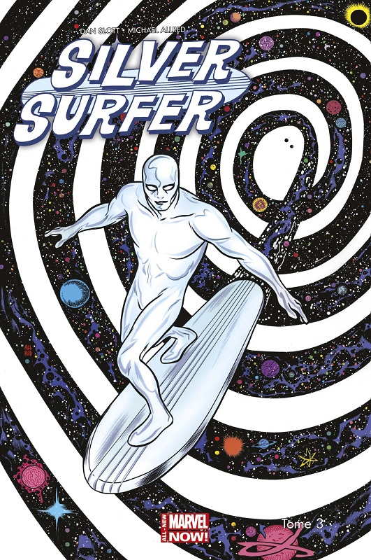 Silver Surfer (vol.7) T3 : Plus jamais d'après, comics chez Panini Comics de Slott, Allred, Allred