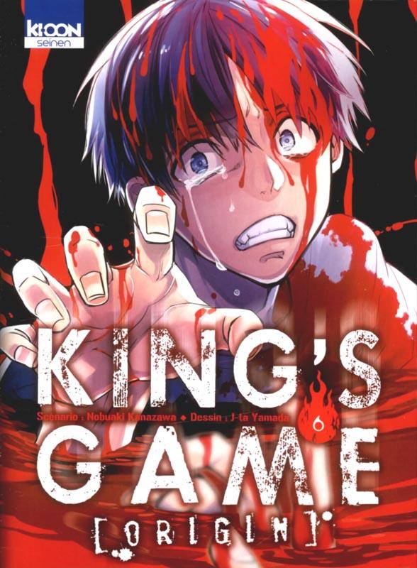 King's game origin T6, manga chez Ki-oon de Kanazawa, Yamada