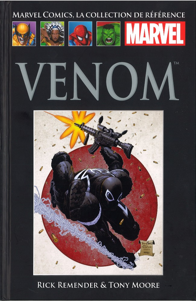 Marvel Comics, la collection de référence T59 : Venom (0), comics chez Hachette de Remender, Moore, Fowler, Rauch