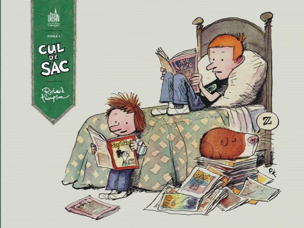 Cul de sac, comics chez Urban Comics de Thompson
