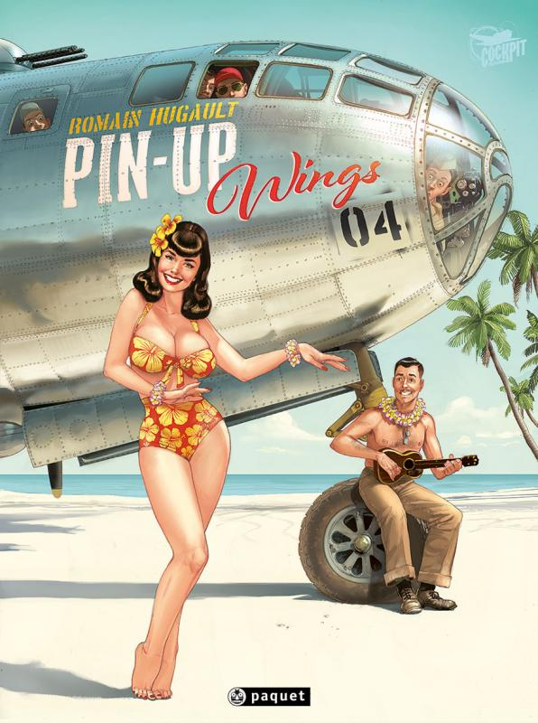 Pin-Up Wings T4 : , bd chez Paquet de Hugault