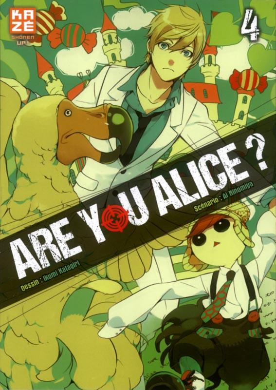 Are you Alice ? T4, manga chez Kazé manga de Ninomiya, Katagiri