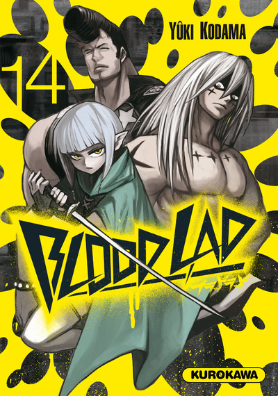 Blood lad T14, manga chez Kurokawa de Kodama