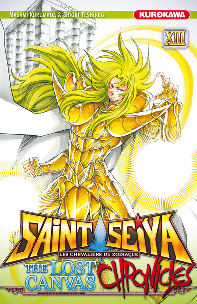 Saint Seiya - The lost canvas chronicles  T13, manga chez Kurokawa de Teshirogi, Kurumada