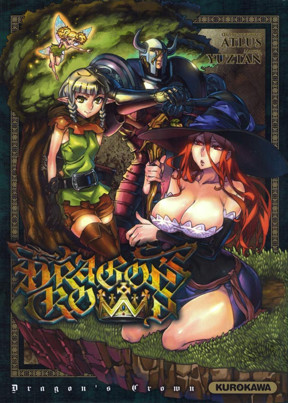 Dragon's crown, manga chez Kurokawa de Atlus, Yuztan