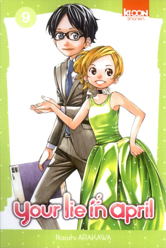 Your lie in april  T9, manga chez Ki-oon de Arakawa