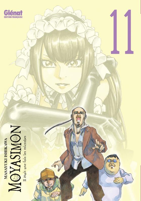 Moyasimon T11, manga chez Glénat de Ishikawa