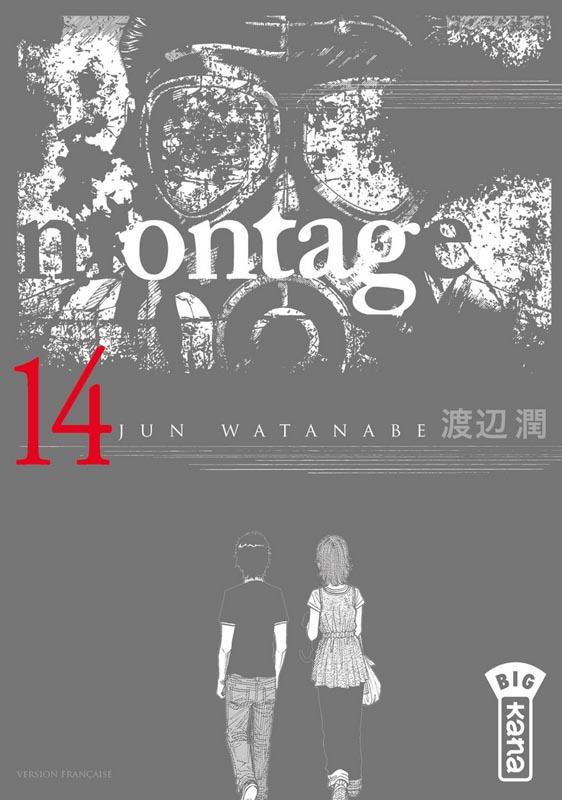 Montage T14, manga chez Kana de Watanabe