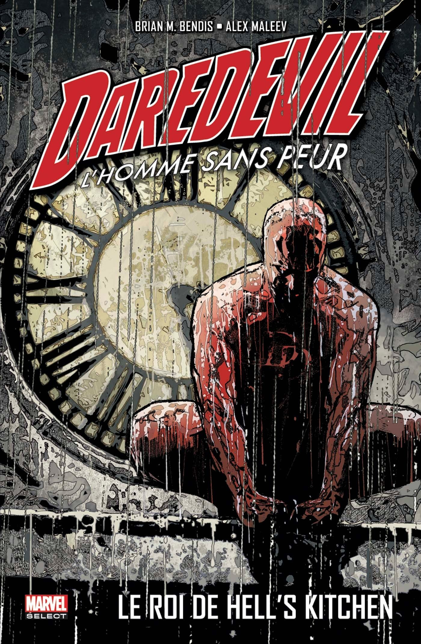 Daredevil - par Brian Michael Bendis T3 : Le Roi de Hell's kitchen, comics chez Panini Comics de Bendis, Maleev, Finch, Russell, Land, Hollingsworth