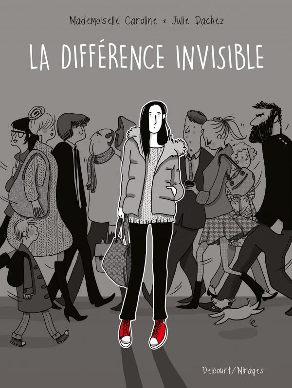 La Différence invisible, bd chez Delcourt de Dachez, Mademoiselle Caroline