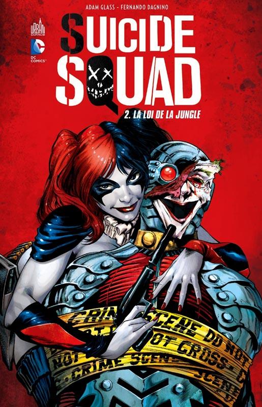 Suicide Squad T2 : La loi de la jungle (0), comics chez Urban Comics de Abnett, Glass, Lanning, Guinaldo, Dallochio, Rodriguez, Dagnino, Richards, Saiz, Kalisz, Yackey, Lashley