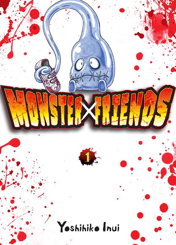 Monster x friends T1, manga chez Komikku éditions de Inui