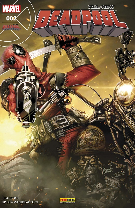 All-New Deadpool (revue) T2 : La traque au détraqué (0), comics chez Panini Comics de Posehn, Duggan, Kelly, McGuinness, Koblish, Hawthorne, Keith, Filardi, Guru efx, Herrera
