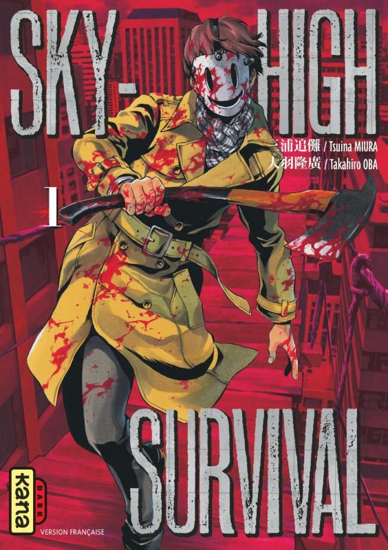 Sky-high survival T1, manga chez Kana de Miura, Oba