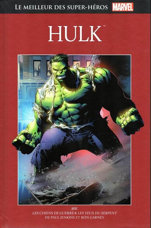 Marvel Comics : le meilleur des super-héros T5 : Hulk (0), comics chez Hachette de Jenkins, Garney, Buscema, Mckone, McKenna, Rosas, Wright, Buccellato