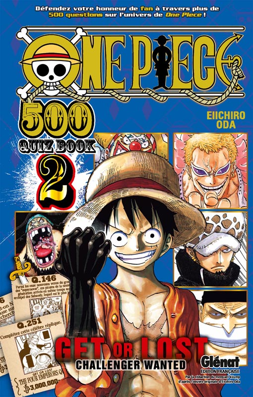 One piece 500 Quiz Book - Get or Lost  T2, manga chez Glénat de Oda